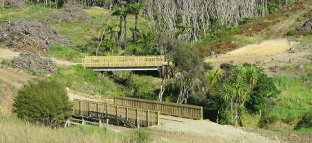 Two new Bridges on Great Barrier Island