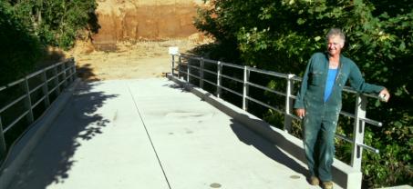 All Concrete Farm Bridge in Taranaki