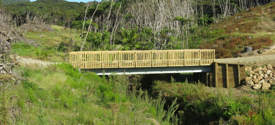 The bridges are a 12m span