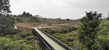 66m & 45m Bridges for Royal Auckland & Grange Golf Club