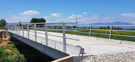 Steel Beam Concrete Deck Bridge for a Waikato based Farm