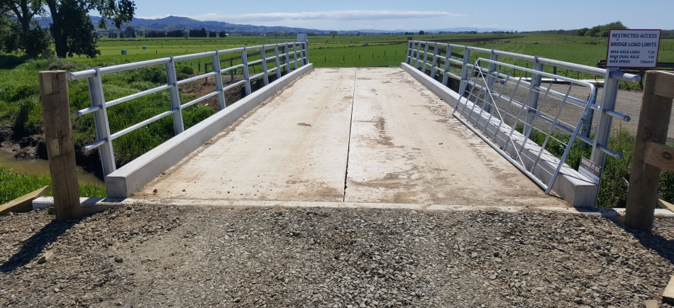 TT concrete bridge - Mauroko Rd