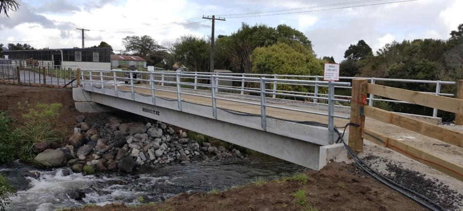 TT Concrete bridge