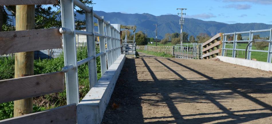 Concrete TT bridge deck