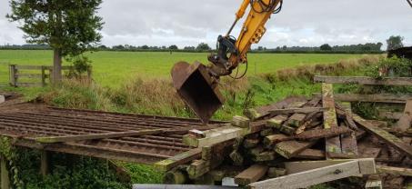 All Concrete Bridge Providing an Excellent on Farm Solution