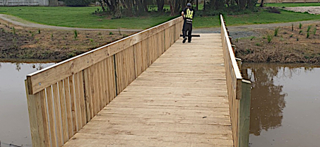 New Papamoa Cycleway Bridge