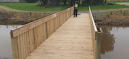 New Papamoa Cycleway Bridge