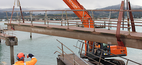 Billy Point Wharf Walkway Demolition