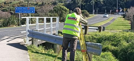 New CFT cycleway bridge for Waihi