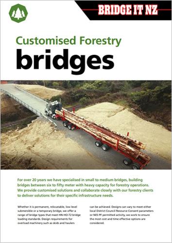 Bridge It NZ - Forestry Brochure